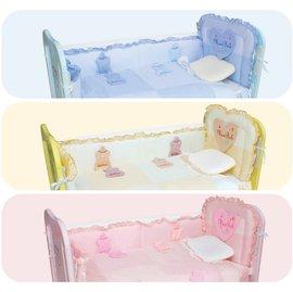 Mam Bab夢貝比 - 3D造型可愛奶瓶8件式床被組 -M (粉、黃、藍) 0