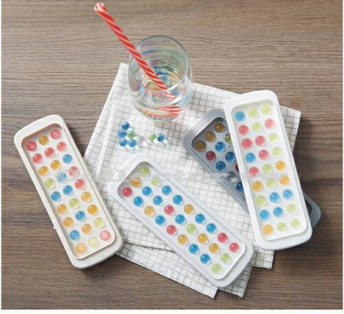 【C17081504】創意小圓球冰格 球形冰模 冰塊盒 造型製冰模具