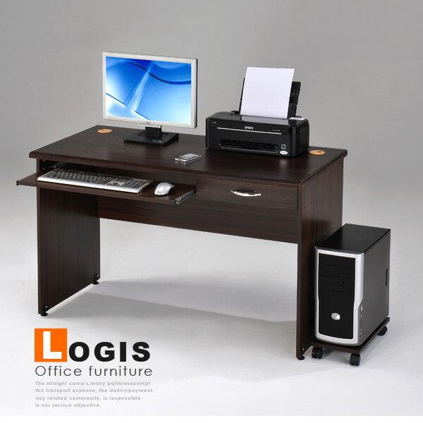 獨家促銷~邏爵家具~LS-03功能兩實用電腦辦公桌書桌(附主機架)