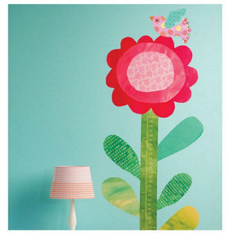 【寶貝樂園】美國Wallies創意輕鬆貼? 寶貝身高尺- 笑臉向日葵