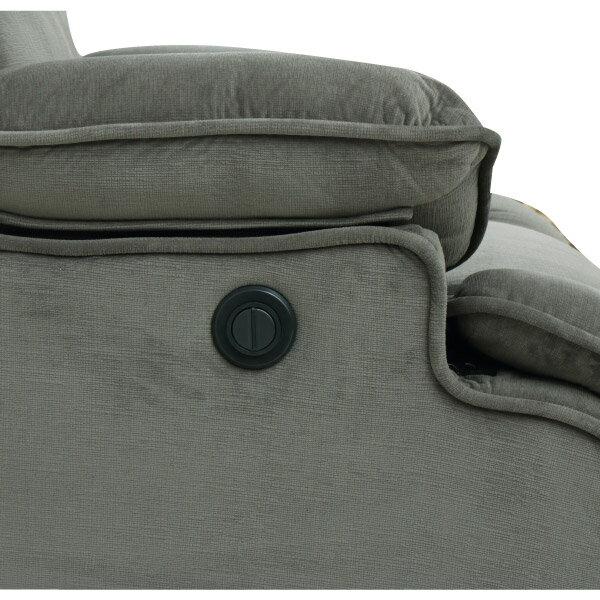 ◎布質1人用電動可躺式沙發 HIT GY NITORI宜得利家居 3