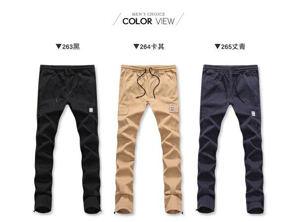 ☆BOY-2☆【NQ95043】工作褲 美式潮流側口袋休閒褲 1