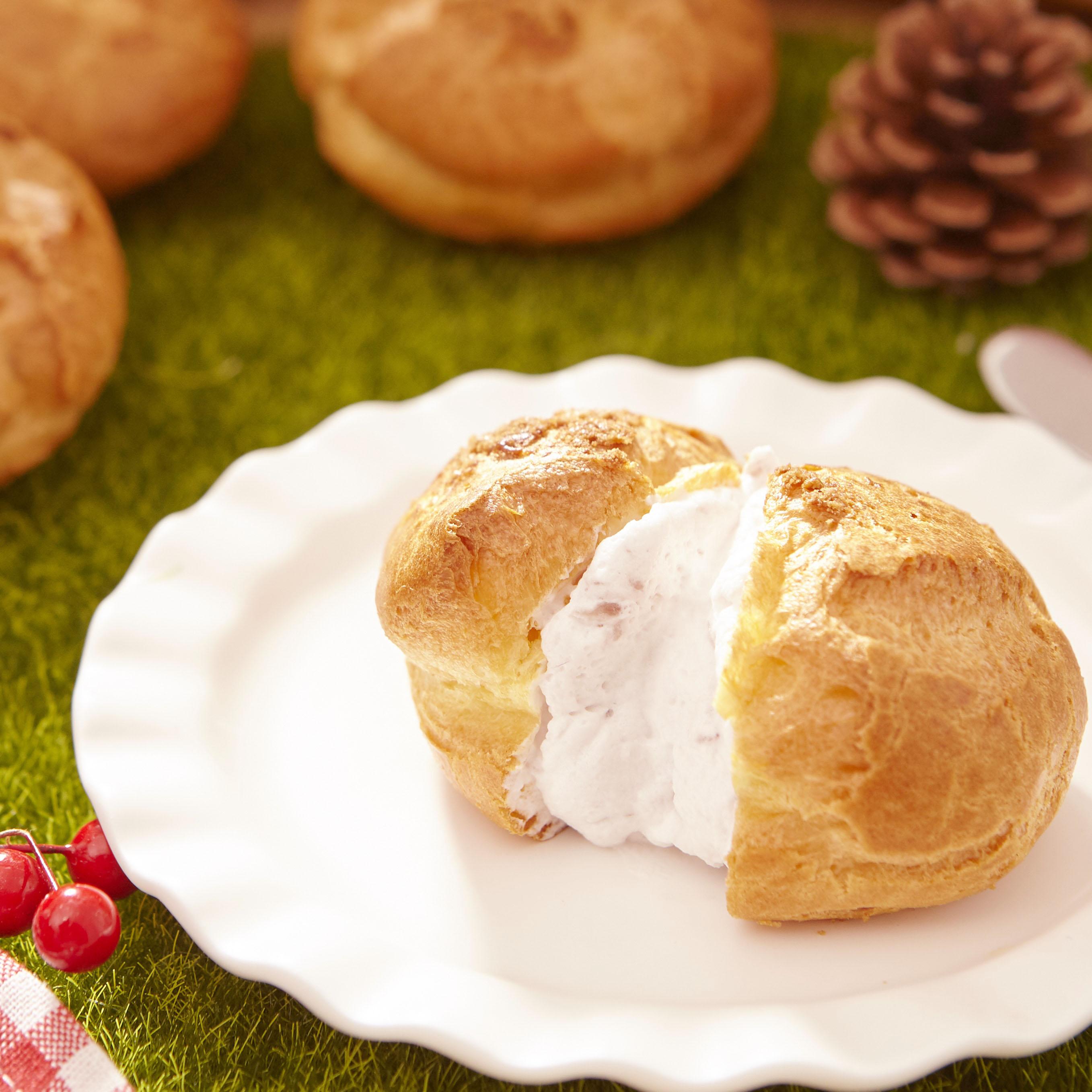 【銷售萬顆】人氣菠蘿泡芙6入禮盒-芋頭口味