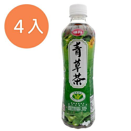 味丹 心茶道 健康青草茶 560ml (4入)/組