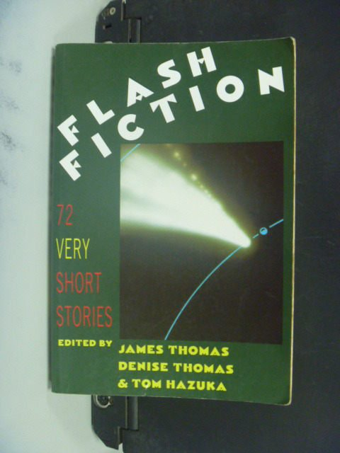 【書寶二手書T9/原文小說_MFA】Flash Fiction_Thomas, James