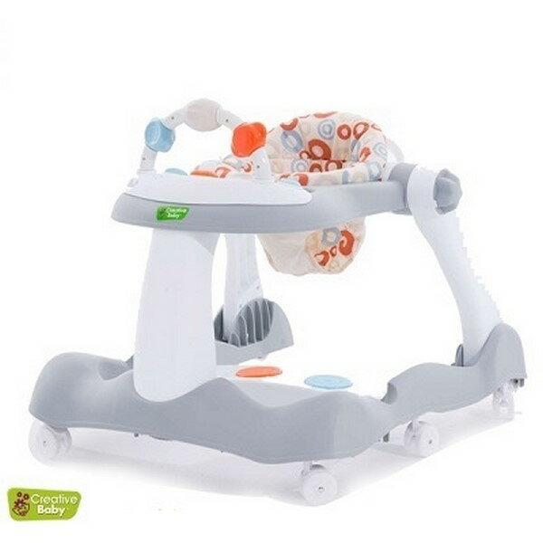 Creative Baby 多功能三合一音樂折疊式學步車【六甲媽咪】