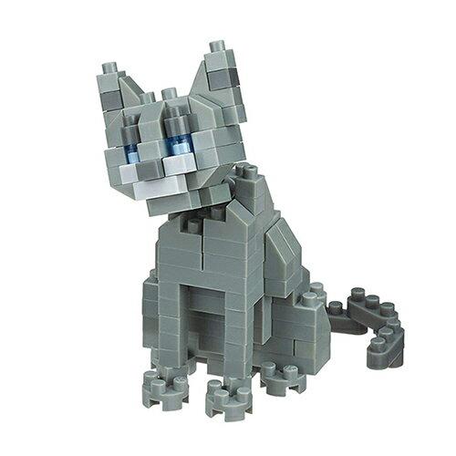 《NanoBlock迷你積木》NBC-266俄羅斯藍貓