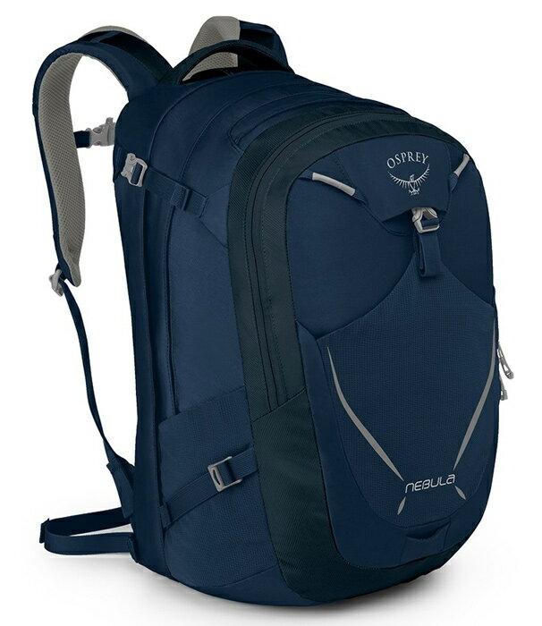 Osprey  美國  NEBULA 34 電腦背包《男款》/15吋筆電背包 城市背包 旅行背包 -海軍藍/Nebula34 【容量34L】