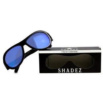 瑞士【SHADEZ】兒童太陽眼鏡經典款-極光黑(0-7歲)