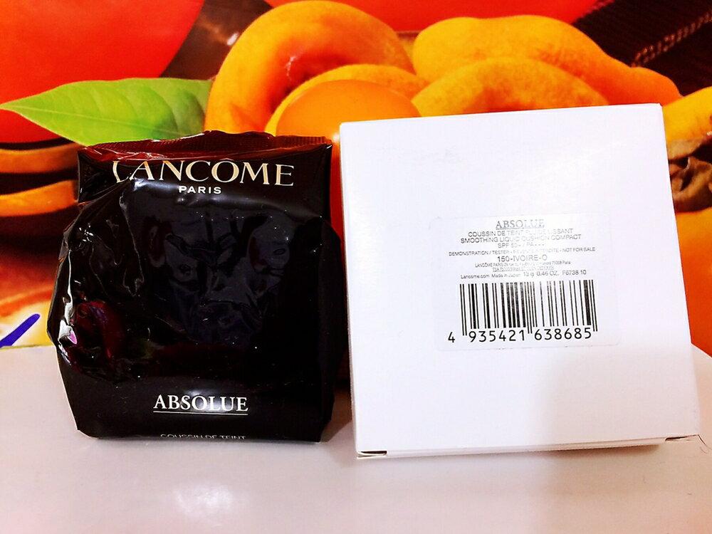 LANCOME 蘭蔻 絕對完美玫瑰氣墊粉餅蕊13g (色號: 150-PO) 補充包 百貨專櫃正貨白盒裝