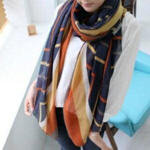美麗大街【KTW31】巴厘紗絲巾韓版圍脖韓國女圍巾超長兩用披肩