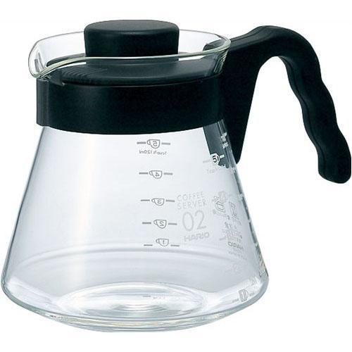 【百倉日本舖】日本製HARIO V60咖啡壺/耐熱玻璃壺/玻璃咖啡壺/微波玻璃壺/泡茶壺700ml