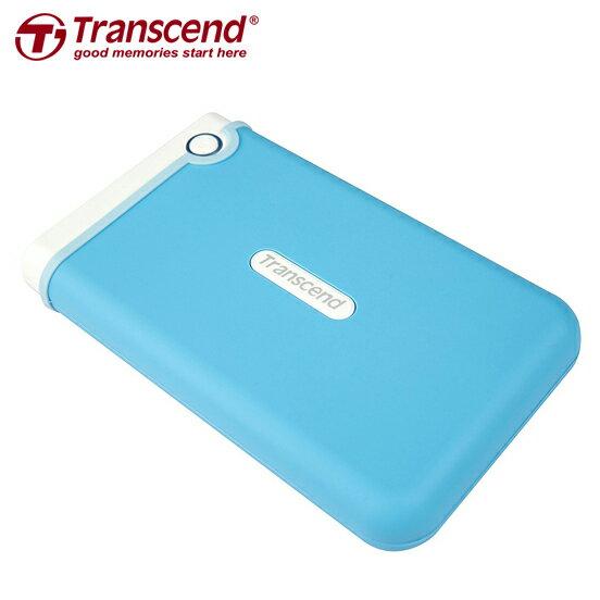 Transcend 創見 2TB USB3.0 StoreJet 25M3隨身行動硬碟 藍色