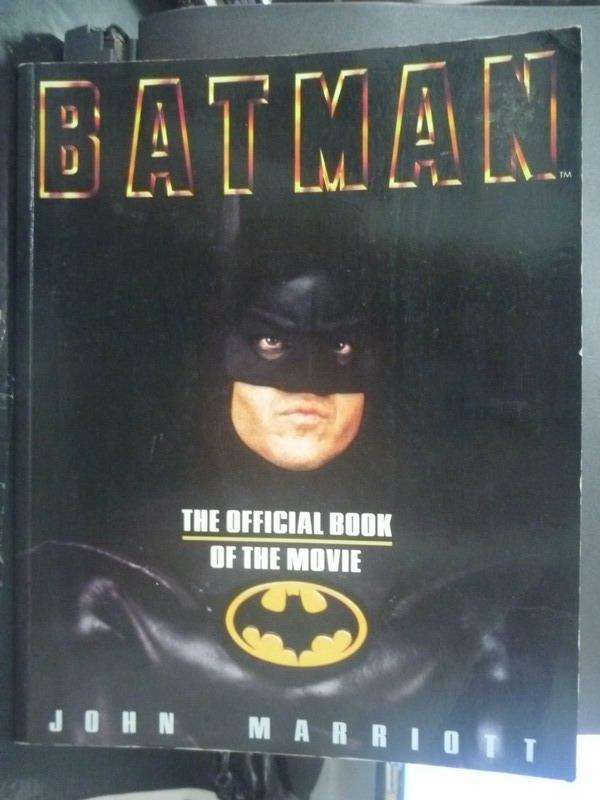 ~書寶 書T4/繪本_QIY~Batman_John Marriott