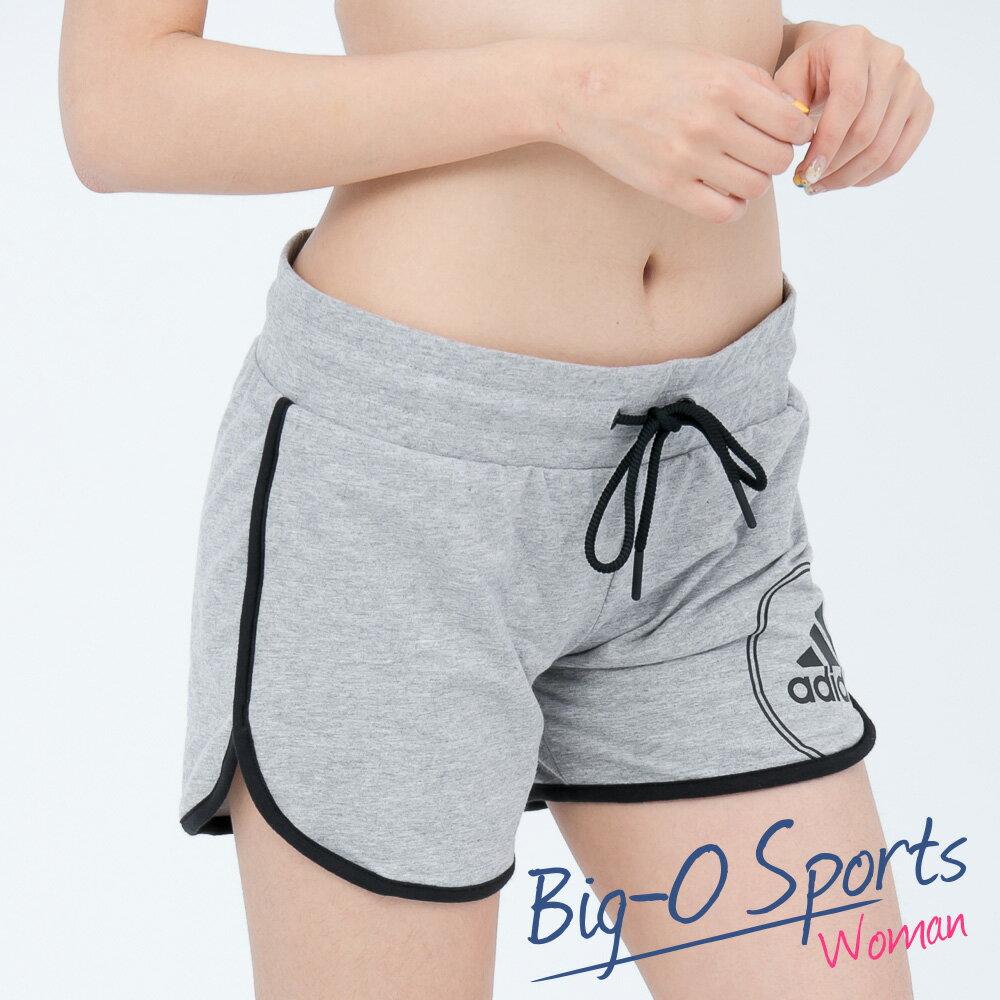 ADIDAS 愛迪達 LOGO SHORT 運動休閒短褲 女 AJ6352 Big-O Sports