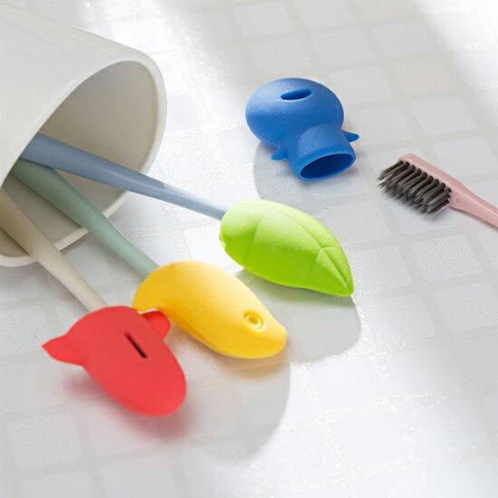 ?MY COLOR?便攜式卡通牙刷套 保護套 洗漱 衛浴 衛生 防塵 乾淨 安全 兒童 戶外 旅行【S60-1】