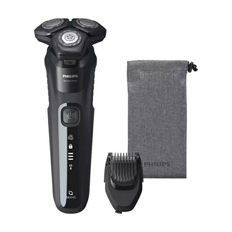 PHILIPS 飛利浦 智能系列三刀頭電鬍刀 S5588 贈電池式輕巧電鬍刀 (PQ206)【比漾廣場】