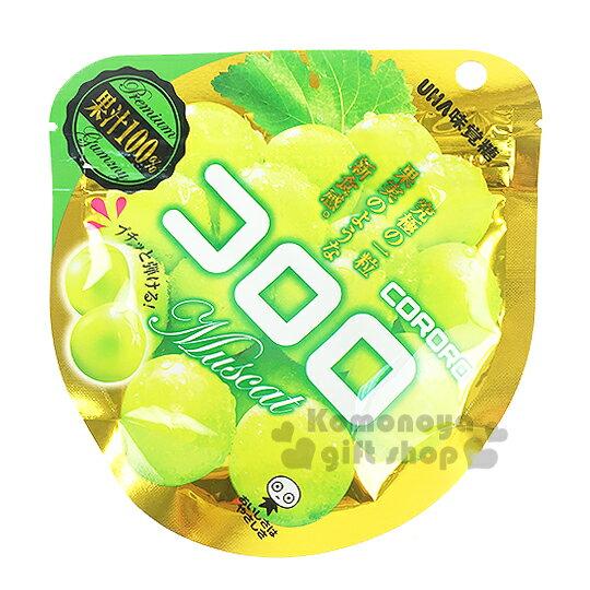 〔小禮堂〕日本原產 UHA味覺糖 白葡萄酷露露Q糖《40g》