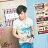 ☆BOY-2☆【NR01051】短袖T恤韓版潮流三角形彩色印花短T 3