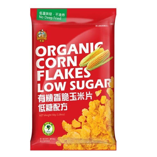 【米森】有機香脆玉米片-隨手包(30公克/包)