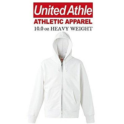日本UnitedAthle連帽外套ZIPJACKET亞規重磅磨毛UA