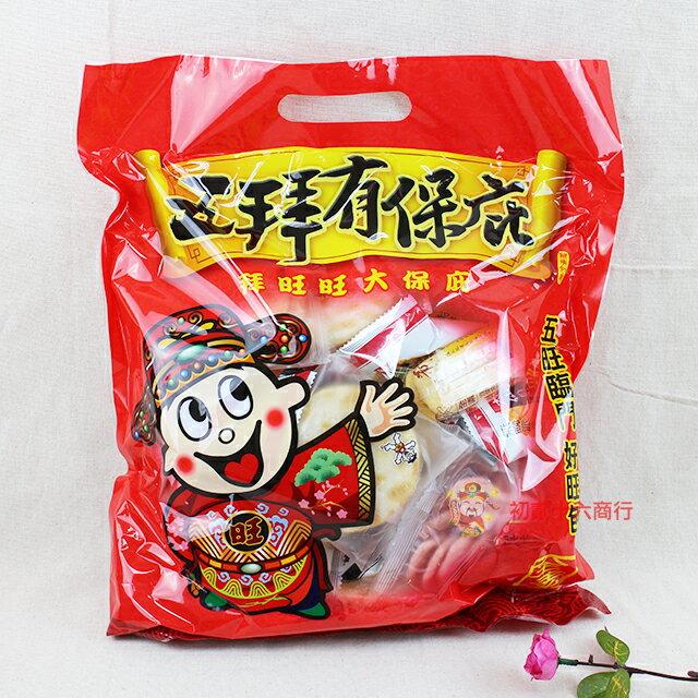 ~0216零食會社~旺旺_五拜有保庇包225g 分享包