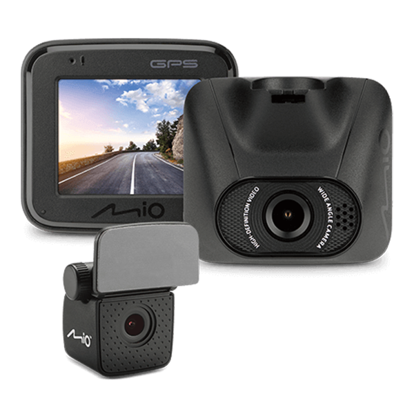 【全店95折最高折一萬】Mio MiVue™ C550D 雙鏡夜視進化 GPS 大光圈行車記錄器★加贈32G記憶卡