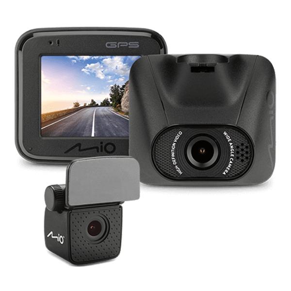 Mio MiVue™ C550D 雙鏡夜視進化 GPS 大光圈行車記錄器★加贈32G記憶卡