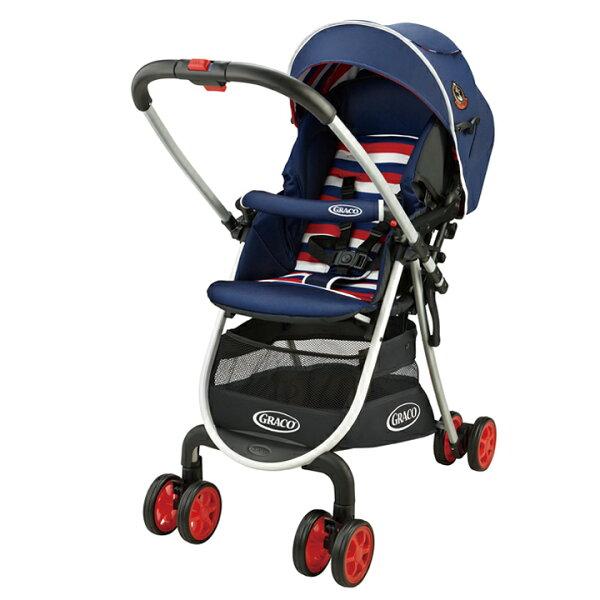 【加贈雨罩】Graco-CitiLiteRUP超輕量型雙向嬰幼兒手推車城市漫遊R挑高版(法式鬆餅)5280元