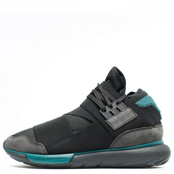 【蟹老闆】ADIDAS Y-3 QASA HIGH 男款 忍者鞋 黑綠 BB4735