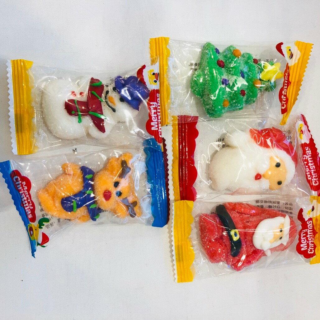 X射線【C010009】聖誕造型棉花糖-單個,點心/零嘴/餅乾/糖果/韓國代購/日本糖果/零食/伴手禮/禮盒
