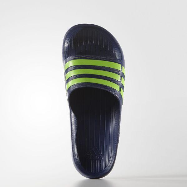 《限時特價↘629免運》Adidas Duramo Slide 男鞋 女鞋 拖鞋 經典 防水 一體成型 深藍 螢光 深藍 【運動世界】 G95489