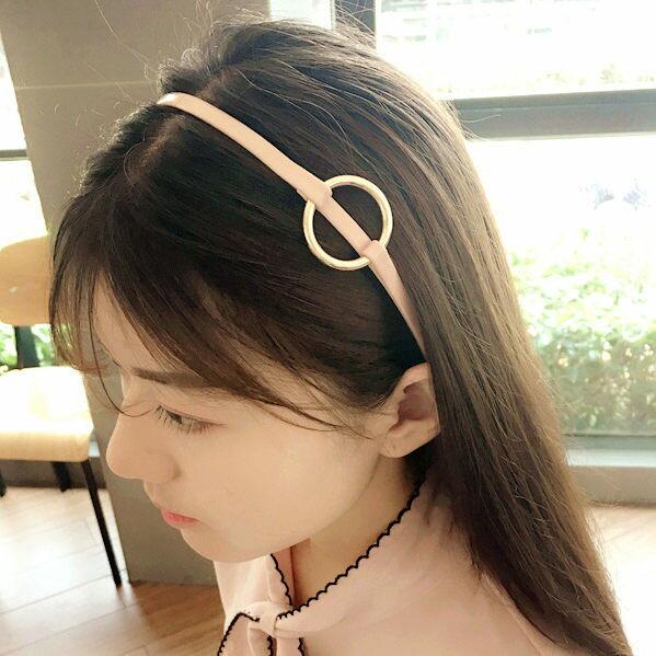 韓國東大門新款鐵扣簡約複古髮箍