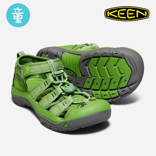 KEEN童款織帶涼鞋NewportH21018272城市綠洲(KIDS、水陸兩用、織帶鞋面、戶外休閒、運動涼鞋)