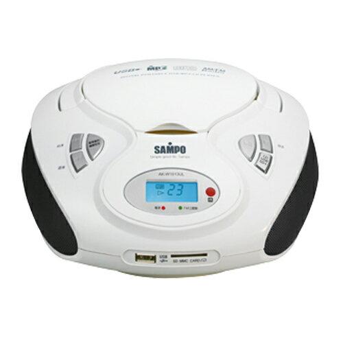 <br/><br/>  聲寶手提CD/MP3/USB/SD音響AK-W1013U【愛買】<br/><br/>