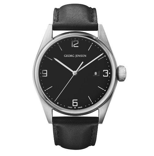 喬治傑生 GEORG JENSEN ~DELTA CLASSIC系列 錶款~黑42mm