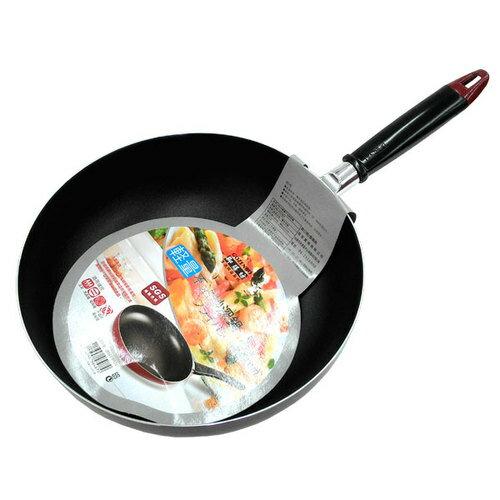 GOZENBO 御膳坊 輕量不沾深炒鍋(001A02009) 28cm