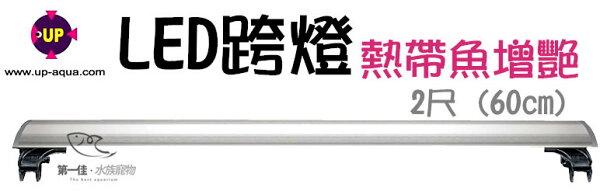 [第一佳水族寵物]台灣雅柏UP[2尺紅白燈熱帶魚增艷]U系列LED超薄跨燈(60cm)