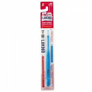 小烏龜精品童裝店:Lux360幼童牙刷Step1(4-24m)1入-藍