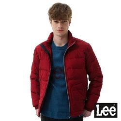 Lee 羽絨外套90/10-男款-藏紅色
