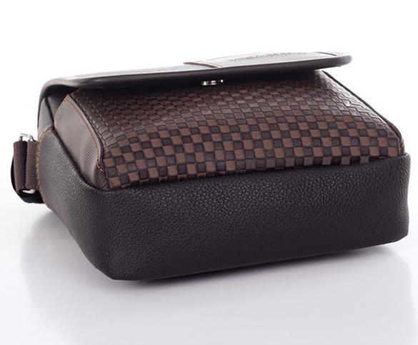 Men's Synthetic Leather Handbag Messenger Briefcase 3