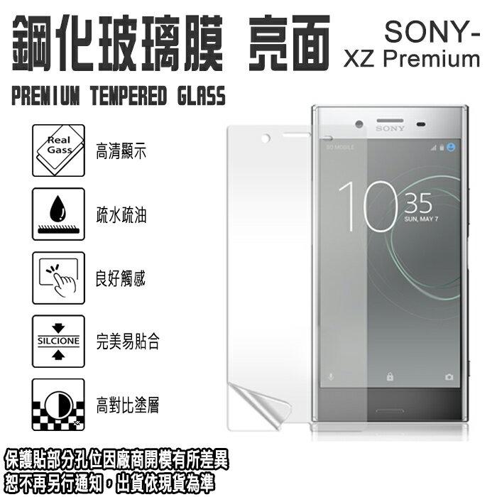 日本旭硝子玻璃 0.3mm 5.5吋 SONY Xperia XZ Premium 鋼化玻璃保護貼/強化玻璃 螢幕 保貼/高清晰/耐刮/抗磨/疏水疏油/TIS購物館