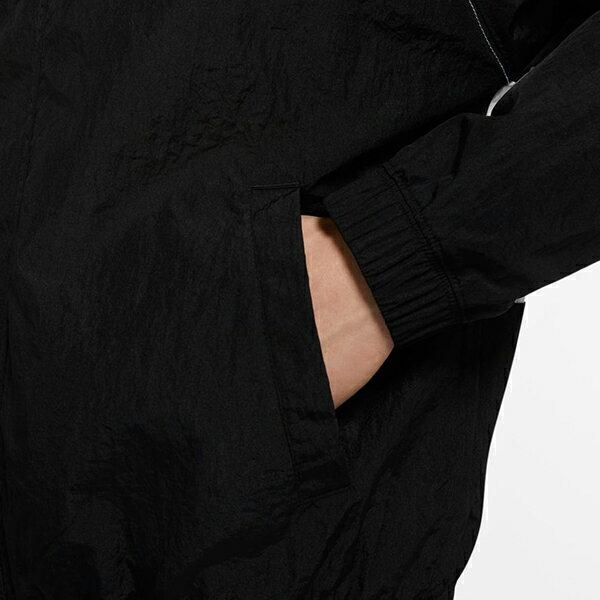 【NIKE】M NSW SWOOSH JKT HD WVN 男裝 連帽 休閒 雙勾 黑 外套 -CJ4889011 5