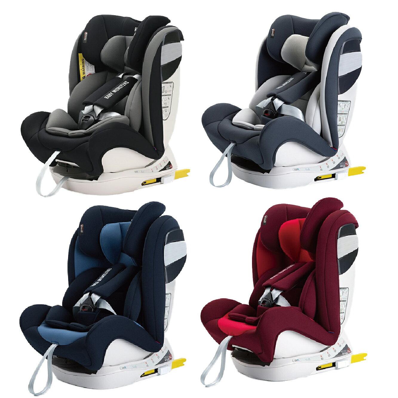 Baby Monsters Guardia 0-12 isofix全階段汽車安全座椅 (四色可選) 618購物節