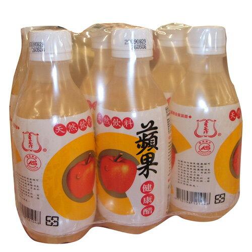 百家珍蘋果健康醋280ml*6入【愛買】