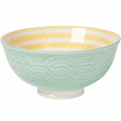 《NOW》波紋餐碗(綠)