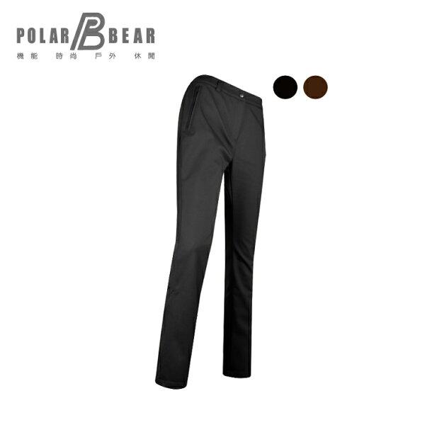 【POLARBEAR】女POLARTEXSOFTSHELL防風直筒長褲