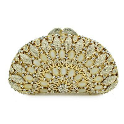晚宴包鑲鑽手拿包-歐美時尚高貴奢華女包包73su21【獨家進口】【米蘭精品】