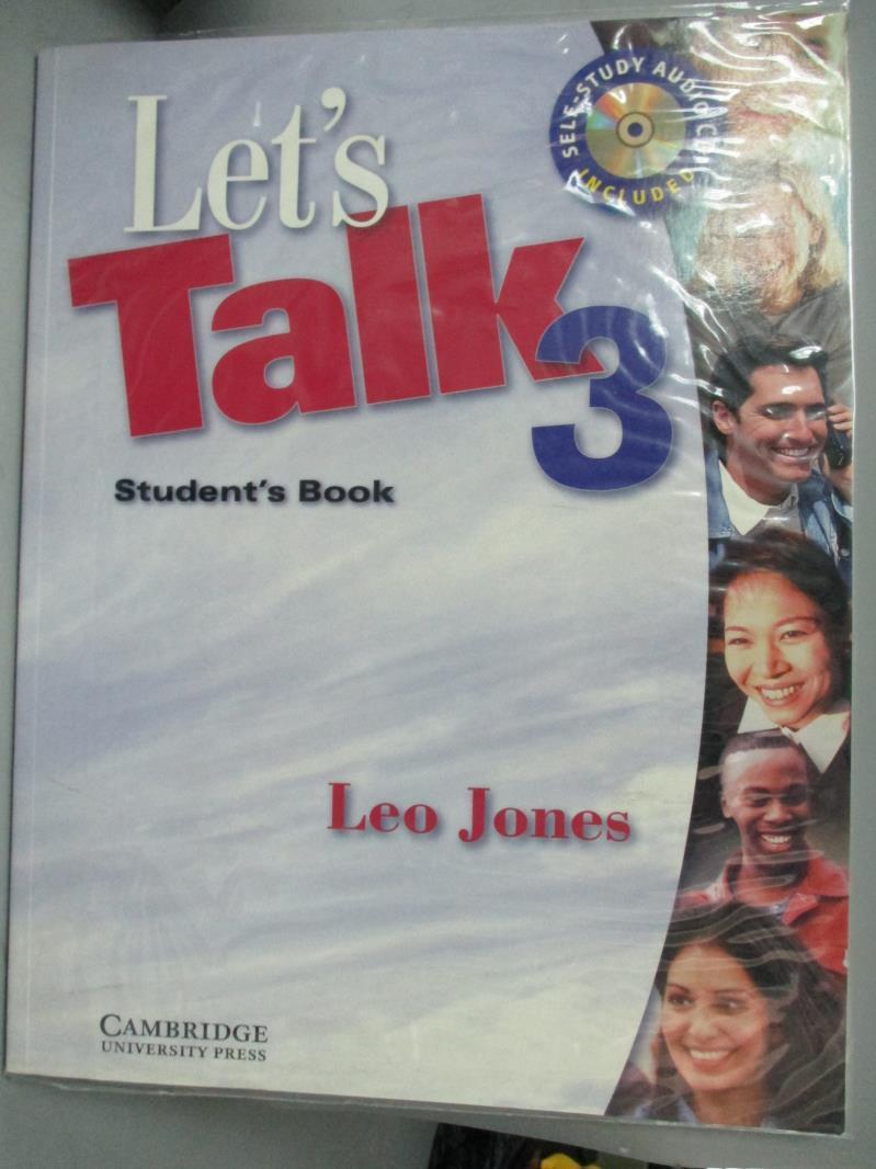 【書寶 書T6/語言學習_ZBT】Let's Talk 3: Student's Book_Jones Leo