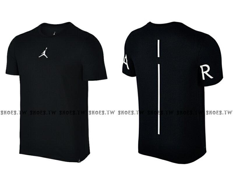 Shoestw【862418-011】JORDAN FUTURE TEE DRI-FIT 短袖 AIR 黑色 男款